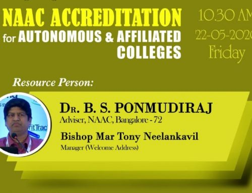 Webinar on NAAC Accreditation for Autonomous /Affiliated Colleges