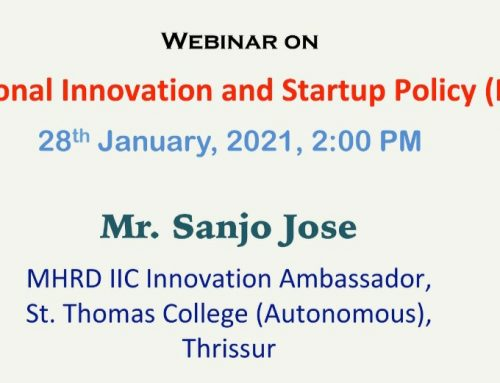 Webinar on National Innovation and Startup Policy