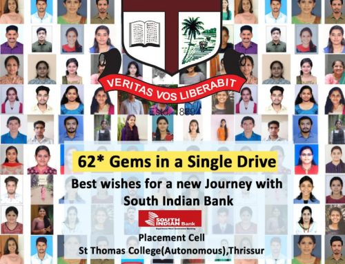 62 GEMS IN A SINGLE DRIVE: PLACEMET AT SOUTH INDIAN BANK